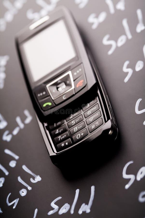 Telefoon voor verkoop royalty-vrije stock fotografie