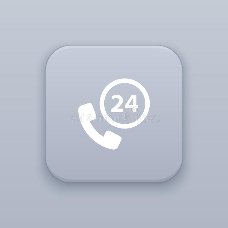 Telefoon, vraagknoop, beste vector royalty-vrije illustratie