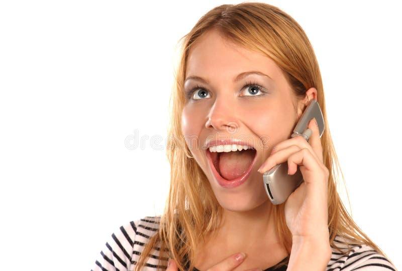 Telefoonroddel stock foto's