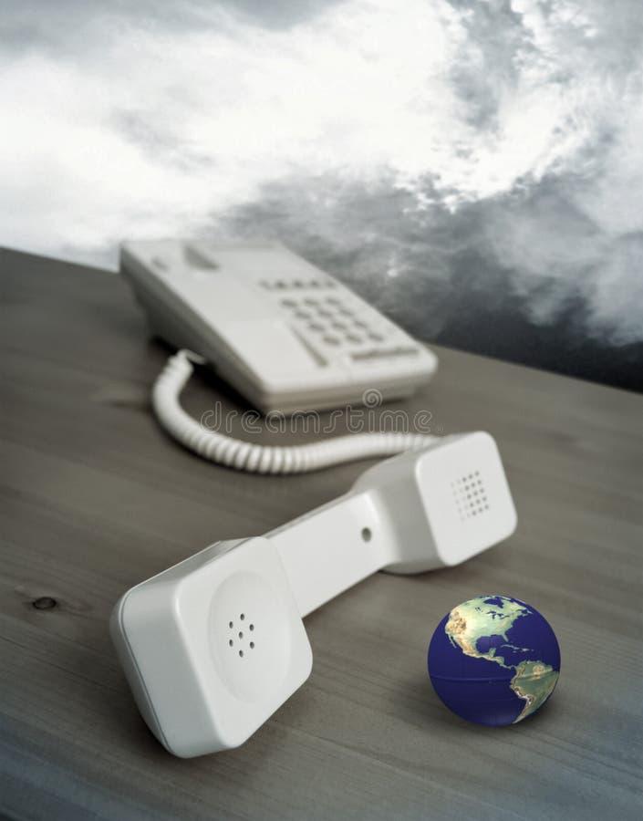 Telefoontoestel stock afbeelding