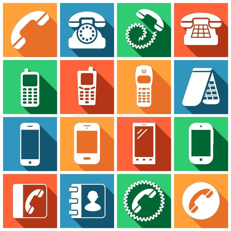 Telefoontoestel royalty-vrije illustratie