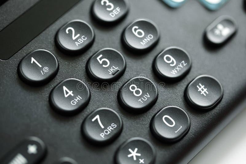 Telefoontoetsenbord royalty-vrije stock afbeelding
