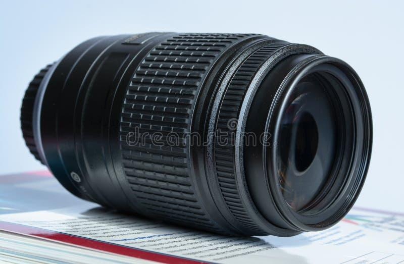 Telefoto Lense Stockfoto