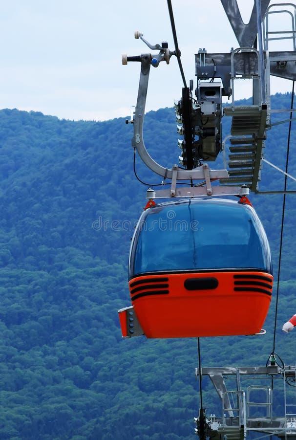 Telegondola from Piatra Neamt stock photo