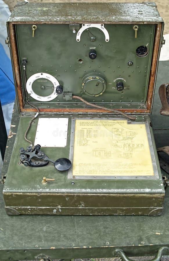 Telegrafo Morse fotografia stock libera da diritti