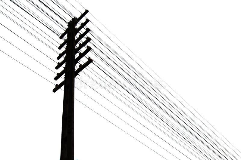 Download Telegraftrådar stock illustrationer. Illustration av linje - 510573