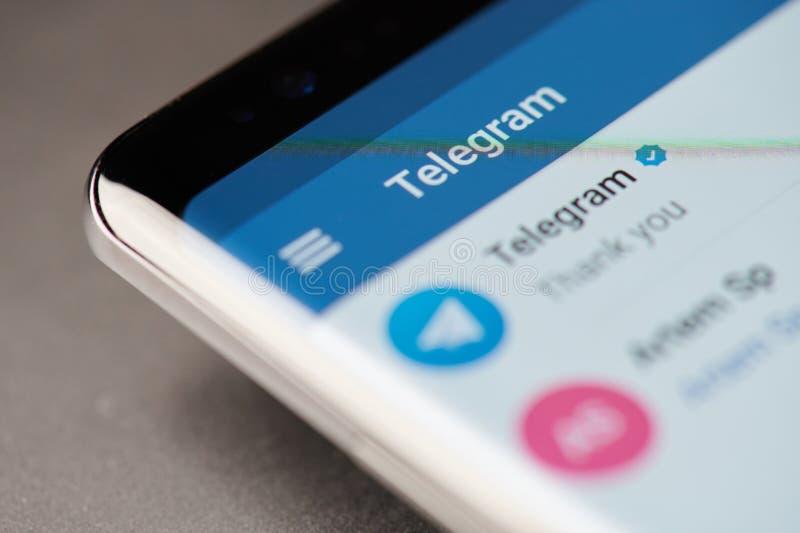 Telegrama gona menu obrazy royalty free