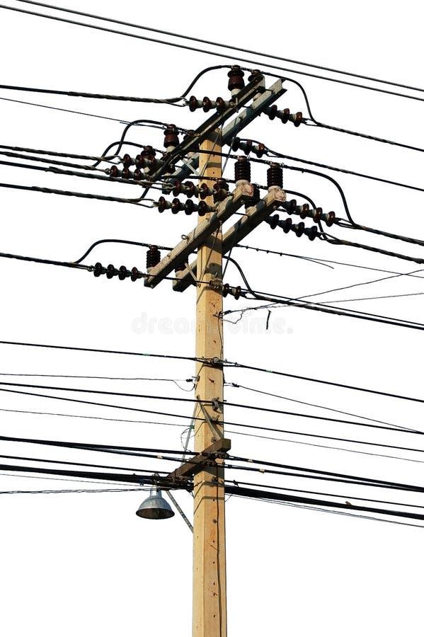 Telegraph pole stock photos