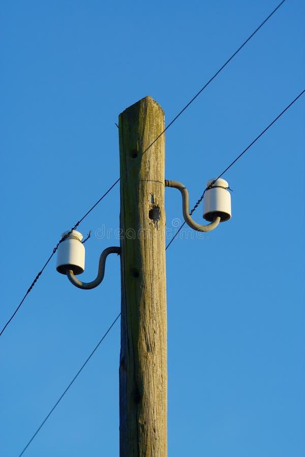 Telegraph Pole stock image