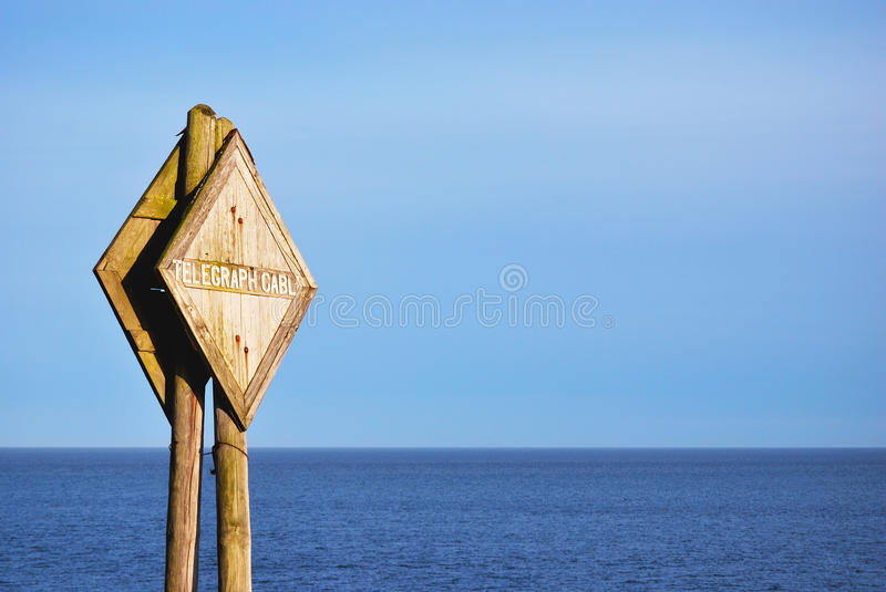 Download Telegraph Sign Royalty Free Stock Photography - Image: 9477337