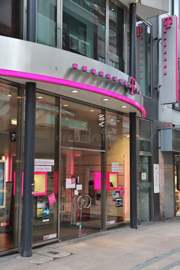 Telekom Deutschland royaltyfria bilder