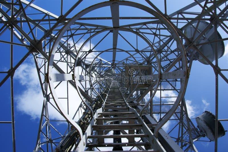 Download Telekommunikations-Kontrollturm 6 Stockbild - Bild von welle, metalwork: 12203363