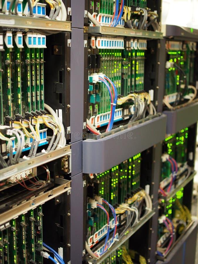 Telekomunikaci wyposażenie obraz stock