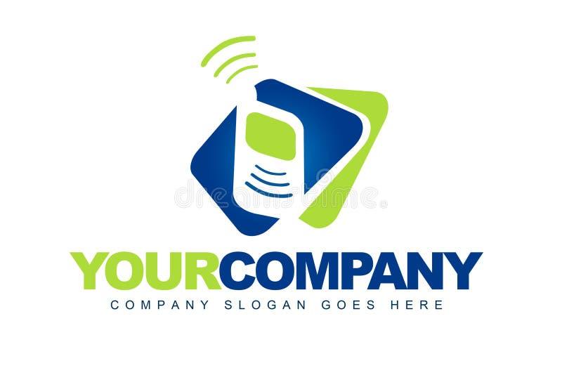 Telekomunikacja logo ilustracja wektor