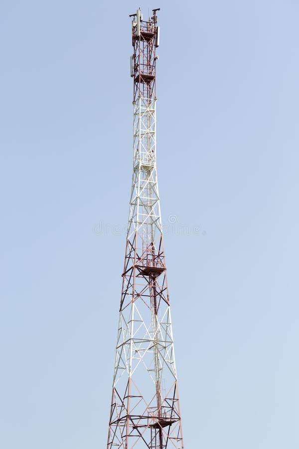 Telekomunikacyjny komórki wierza GSM, LTE zdjęcia stock
