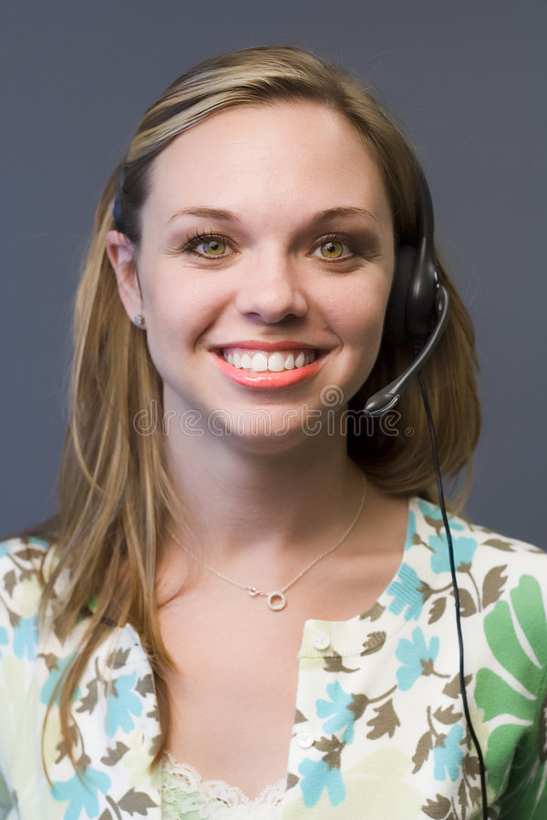 Telemarketing 12 stock photography