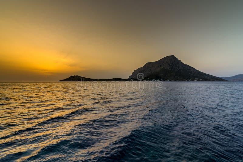 Telendos, île de Kalymnos photo stock
