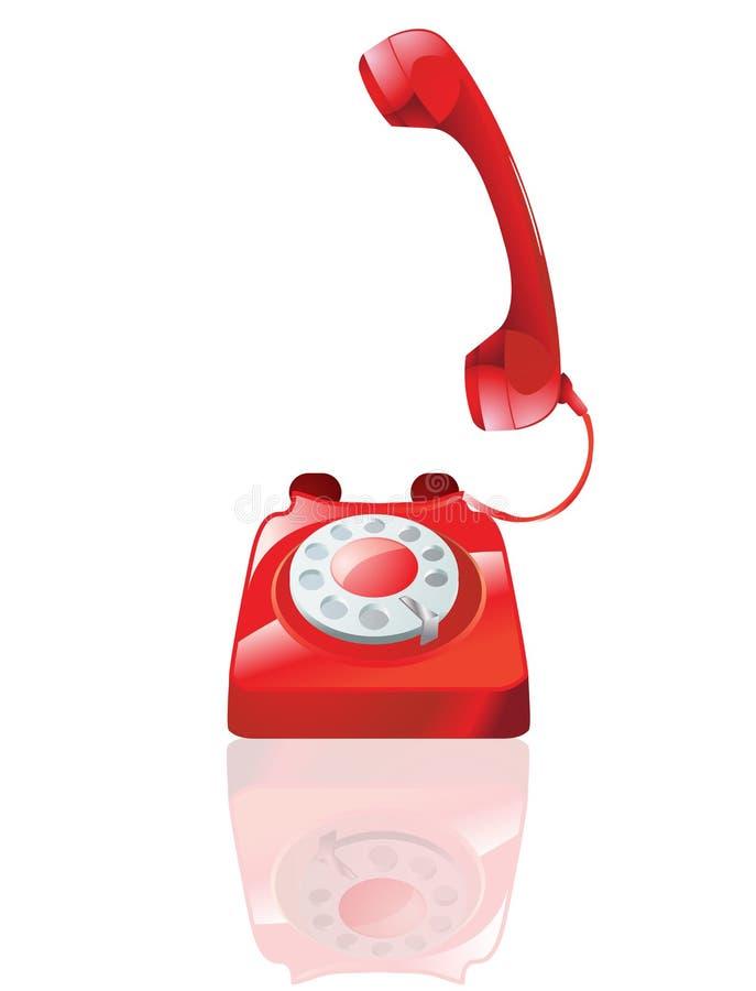 Download Telephone stock illustration. Image of talk, help, calling - 16794694