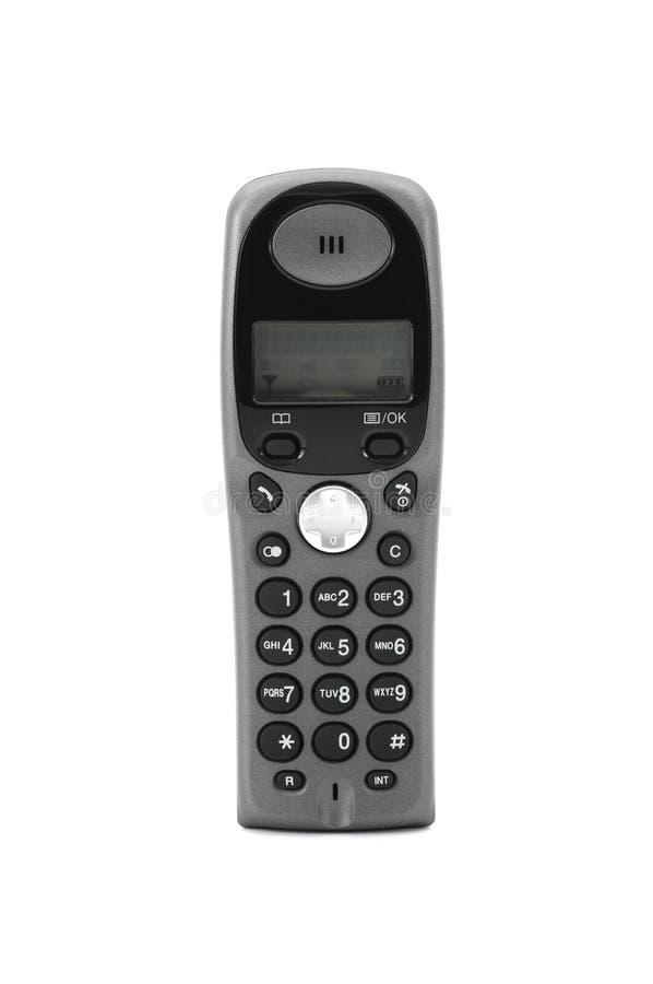 Telephone. Wireless telephone isolated on white background stock photo