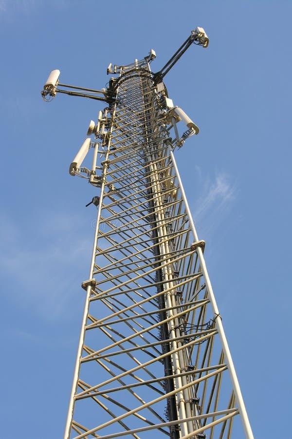 Telephone antenna royalty free stock photography
