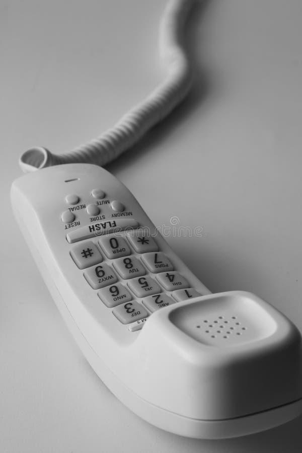 Telephone b&w royalty free stock photography
