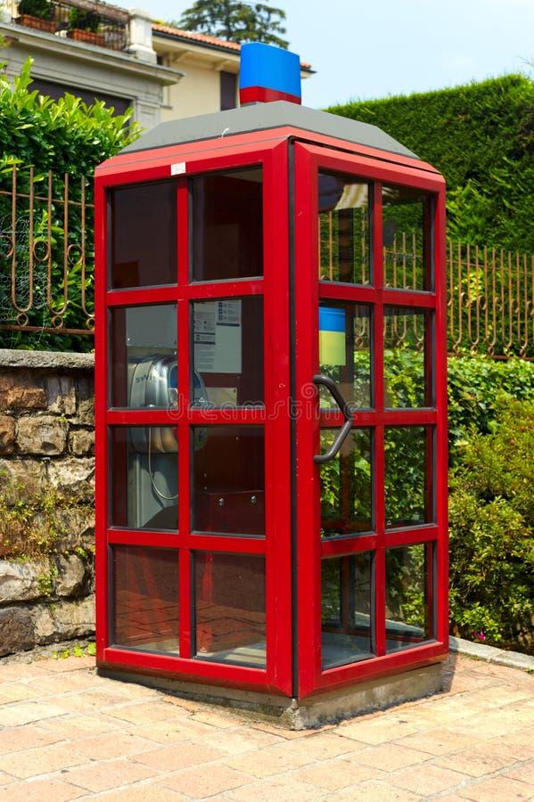 Telephone box stock images