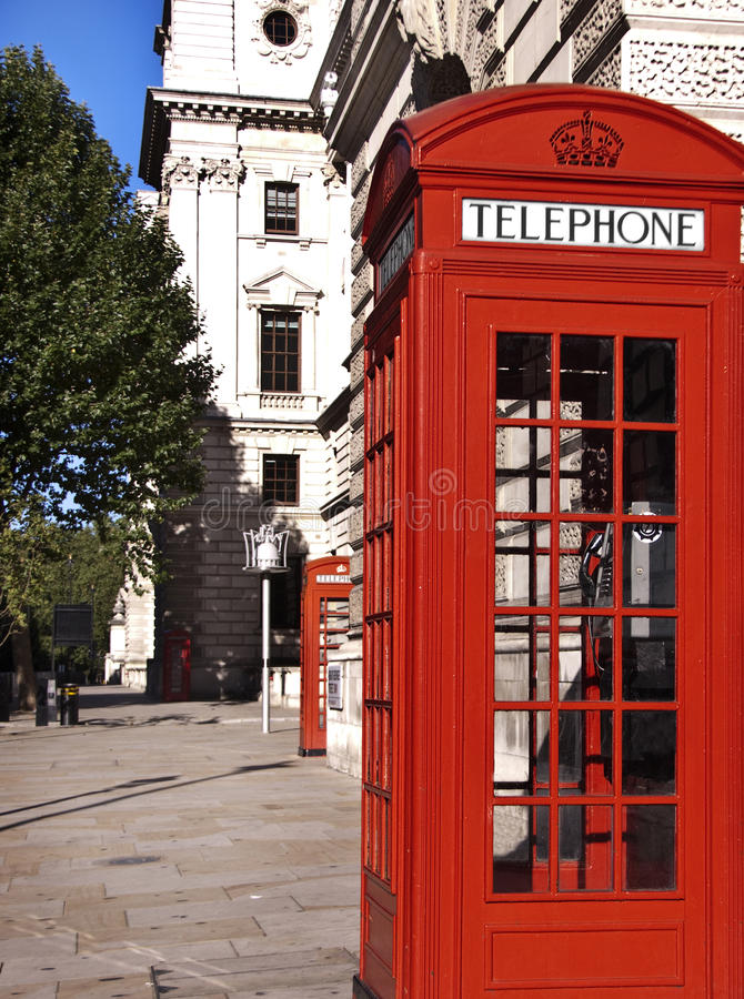 Free Telephone Box In London Stock Photography - 16152842