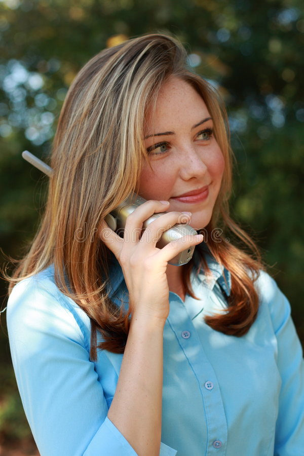 Telephone Business stock photo
