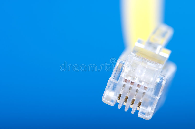 Telephone cable royalty free stock images