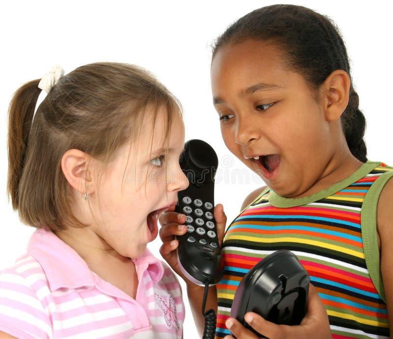 Telephone Calls stock image