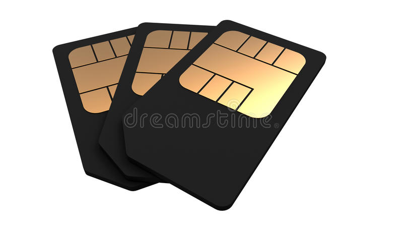 Download Telephone card stock illustration. Illustration of simcard - 22036556