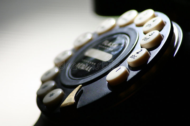 Download Telephone Close Up stock photo. Image of ring, phone, close - 7742310