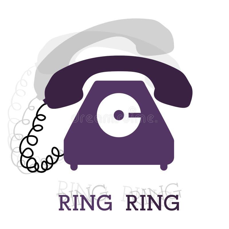 Telephone design. Over white background, vector illustration vector illustration