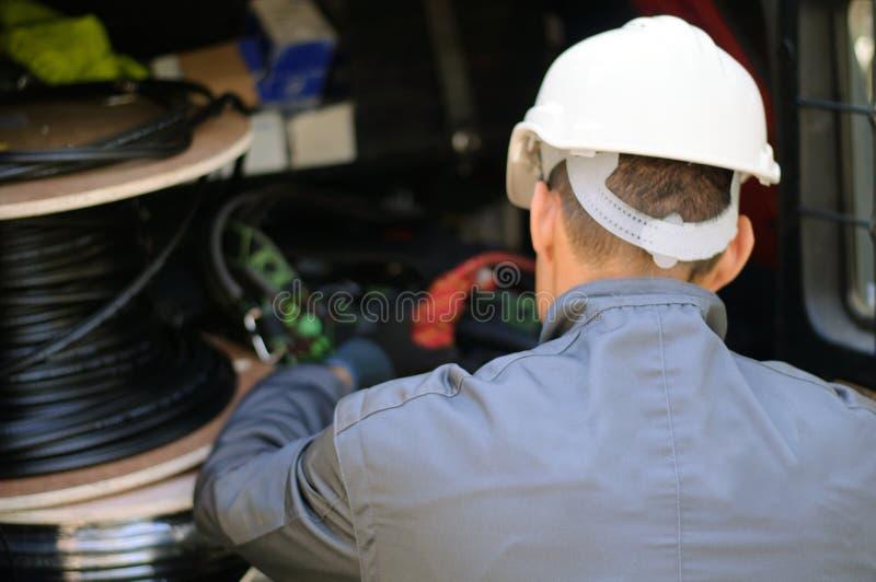 Telephone Engineer stock photos