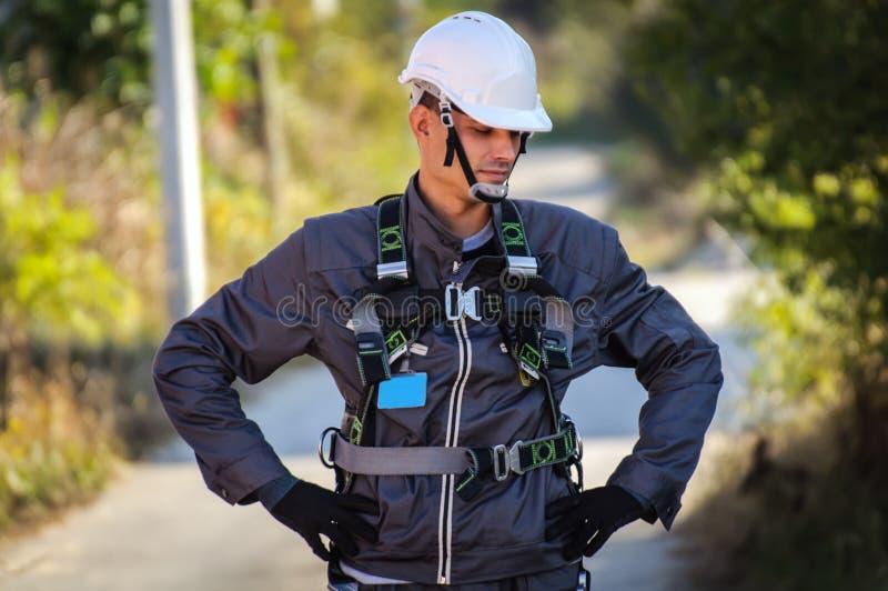 Telephone Engineer stock photo
