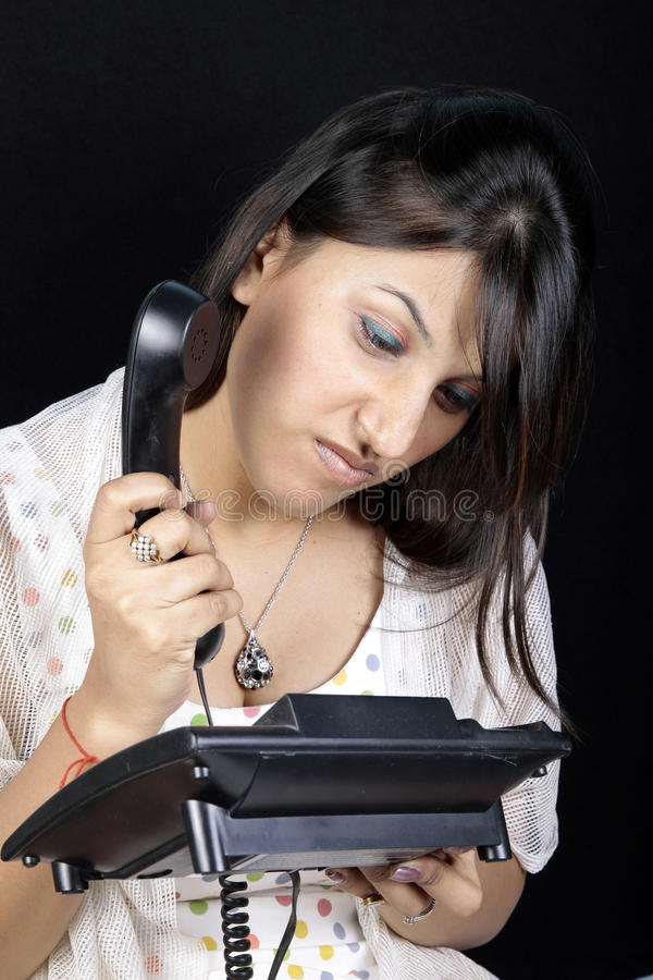 Free Telephone Frustration Royalty Free Stock Photos - 14948258