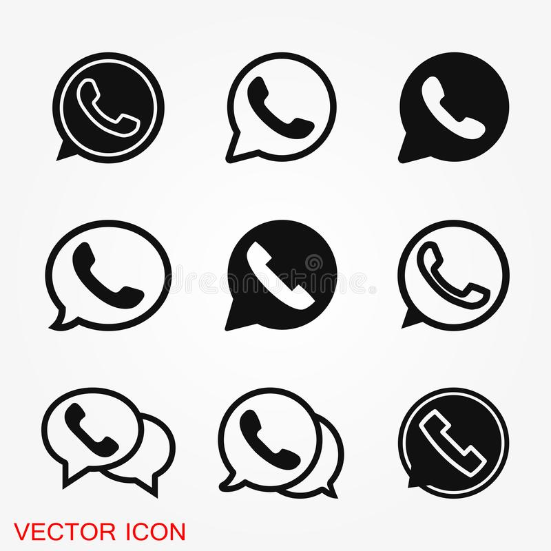 WhatsApp Icon Logo Element Sign Vector In Pink Mobile App On White
