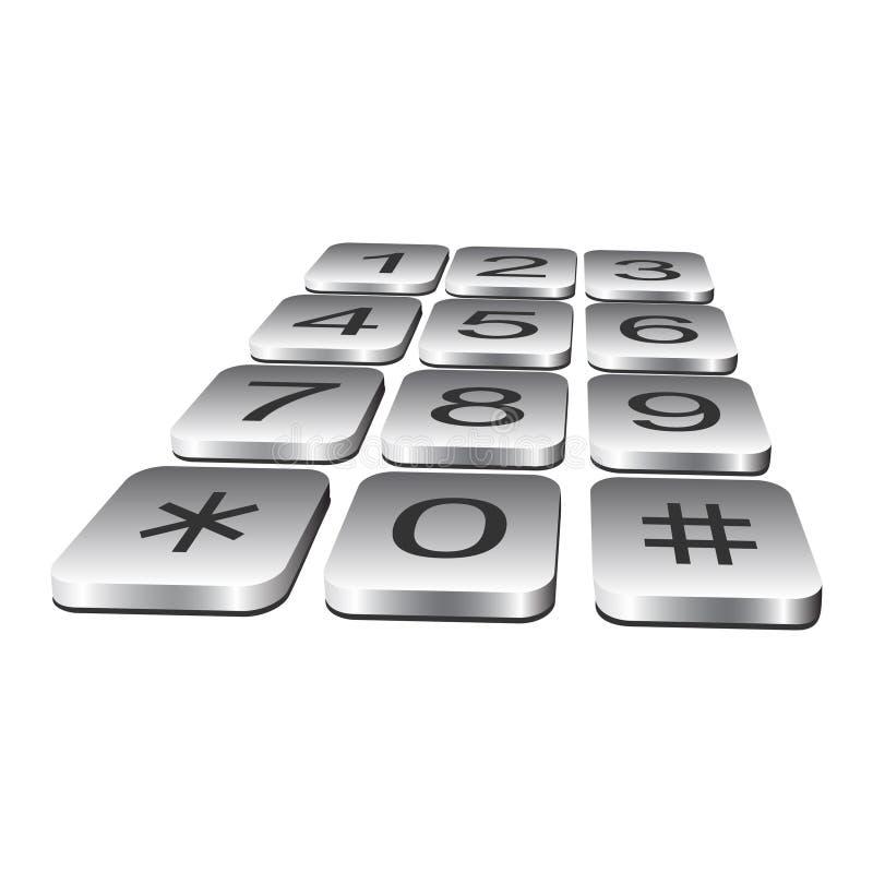 Free Telephone Keyboard. Stock Photos - 17495863