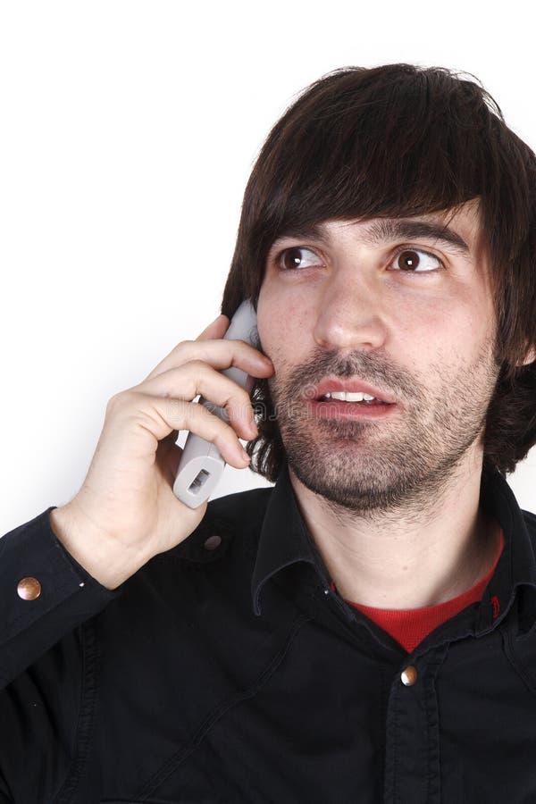 Free Telephone Man Stock Photos - 18971273