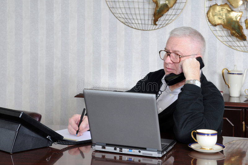 Telephone Notes royalty free stock images