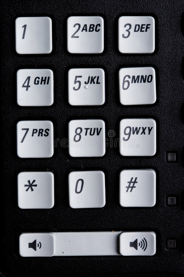 Download Telephone number pad stock photo. Image of technology - 4660314