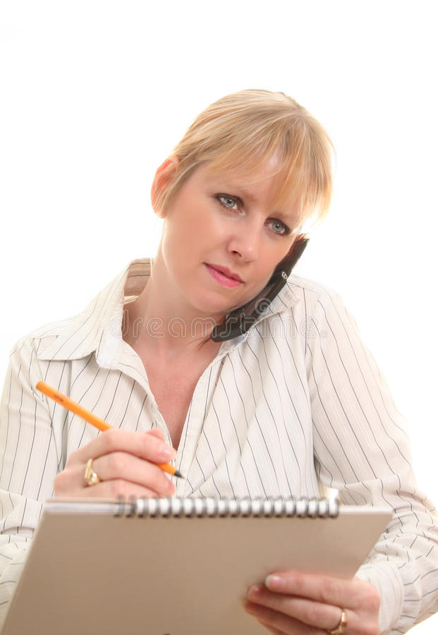 Download Telephone order stock photo. Image of cell, female, lady - 13117660