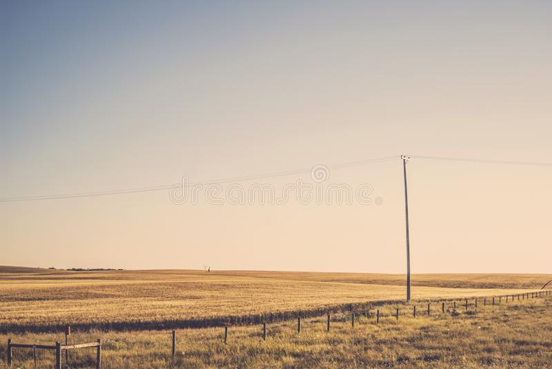 Telephone Pole In Country Field Free Public Domain Cc0 Image