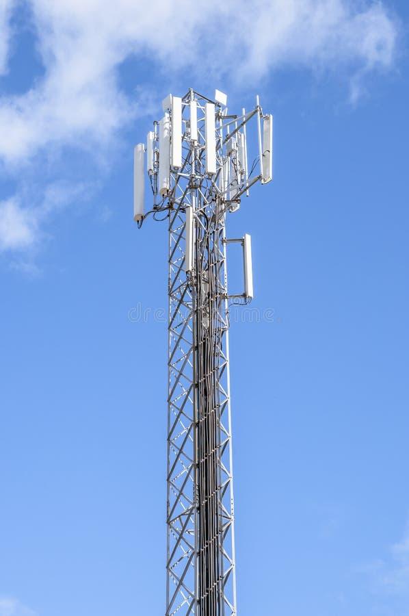 Telephone poles royalty free stock image