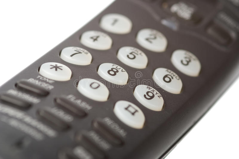 Download Telephone receiver stock image. Image of number, button - 13331041