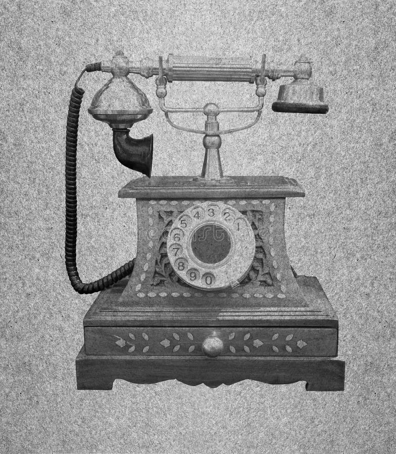 Telephone retro royalty free stock photography
