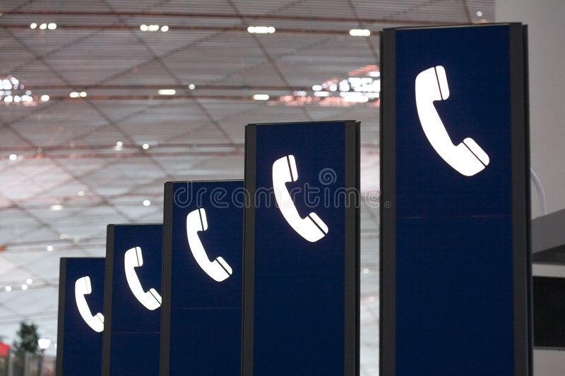 Download Telephone signs stock photo. Image of help, blue, office - 4966660