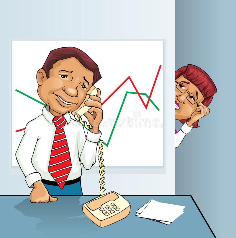 Download Telephone spy stock vector. Illustration of listening - 16581566