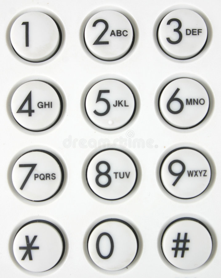 Download Telephone Touchpad Royalty Free Stock Photography - Image: 980667