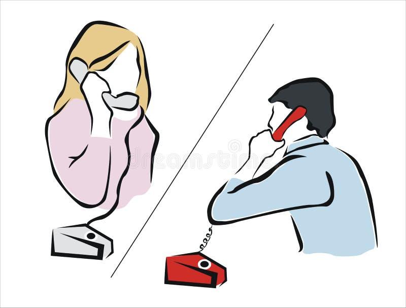 Telephone 2 Stock Vector. Illustration Of Listen, Isolated